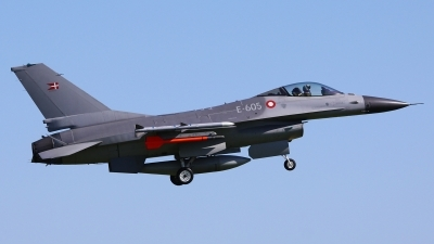 Photo ID 50656 by Tobias Ader. Denmark Air Force General Dynamics F 16AM Fighting Falcon, E 605