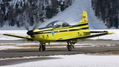 Photo ID 50626 by Pieter Taris. Switzerland Air Force Pilatus PC 9A, C 412