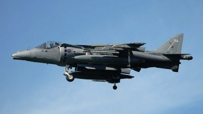 Photo ID 6320 by Paul Tiller. UK Air Force British Aerospace Harrier GR7A, ZD348