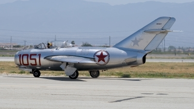 Photo ID 51068 by Jaysen F. Snow - Midwest Tail Chasers. Private Planes of Fame Air Museum Mikoyan Gurevich MiG 15bis, NX87CN