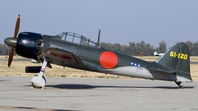 Photo ID 51072 by Jaysen F. Snow - Midwest Tail Chasers. Private Planes of Fame Air Museum Mitsubishi A6M5 Reisen Zero, NX46770