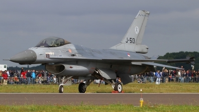 Photo ID 51160 by Jens Wiemann. Netherlands Air Force General Dynamics F 16AM Fighting Falcon, J 513