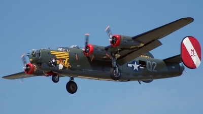 Photo ID 6364 by Brian Lockett. Private Collings Foundation Consolidated B 24J Liberator, N224J