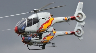 Photo ID 51225 by Peter Terlouw. Spain Air Force Eurocopter EC 120B Colibri, HE 25 1
