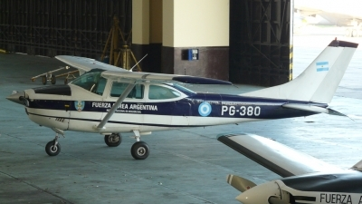 Photo ID 51492 by Martin Kubo. Argentina Air Force Cessna DINFIA A 182N, PG 380