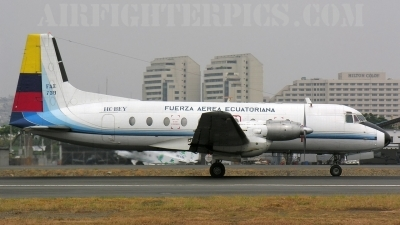 Photo ID 642 by Eduardo Cardenas Suyo. Ecuador Air Force Hawker Siddeley HS 748 Srs2A 285LFD, FAE739