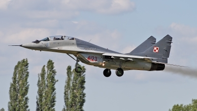Photo ID 51708 by Patricie Vesela. Poland Air Force Mikoyan Gurevich MiG 29GT 9 51, 4123