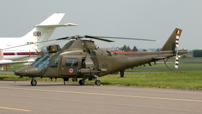 Photo ID 6469 by Jeremy Gould. Belgium Army Agusta A 109HO A 109BA, H41
