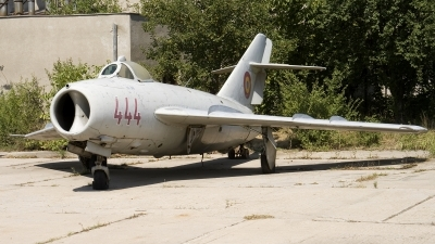 Photo ID 52157 by Carl Brent. Romania Air Force Mikoyan Gurevich MiG 17F, 444