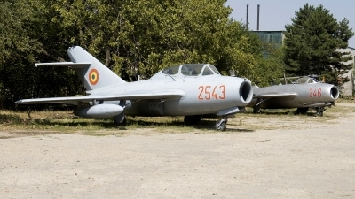 Photo ID 52059 by Carl Brent. Romania Air Force Mikoyan Gurevich MiG 15UTI, 2543