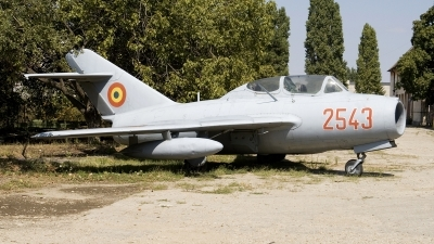 Photo ID 52058 by Carl Brent. Romania Air Force Mikoyan Gurevich MiG 15UTI, 2543
