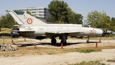 Photo ID 52057 by Carl Brent. Romania Air Force Mikoyan Gurevich MiG 21R, 2007