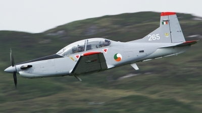 Photo ID 52117 by Frank Grealish. Ireland Air Force Pilatus PC 9M, 265