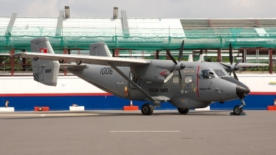 Photo ID 6493 by Jeremy Gould. Poland Navy PZL M 28B 1R Bryza, 1006