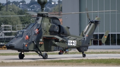 Photo ID 52432 by Günther Feniuk. Germany Army Eurocopter EC 665 Tiger UHT, 98 18