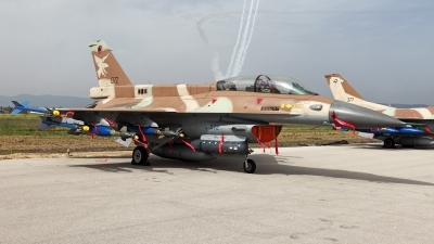 Photo ID 52484 by Carl Brent. Israel Air Force General Dynamics F 16D Fighting Falcon, 072