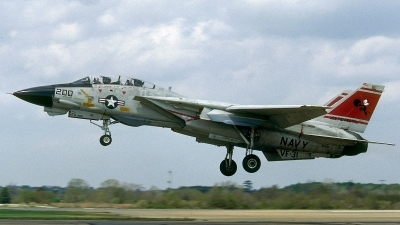 Photo ID 52489 by David F. Brown. USA Navy Grumman F 14A Tomcat, 161850