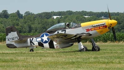 Photo ID 52676 by Rod Dermo. Private Private North American F 51D MkII Mustang, N119H