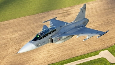 Photo ID 52824 by Milan Roudný. Czech Republic Air Force Saab JAS 39D Gripen, 9820
