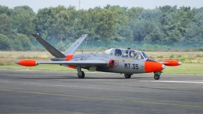 Photo ID 53091 by Vincent de Wissel. Belgium Air Force Fouga CM 170 Magister, MT 35