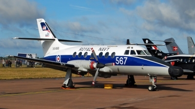 Photo ID 52859 by Dennis A. Jones. UK Navy Scottish Aviation HP 137 Jetstream T2, XX486
