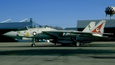 Photo ID 52845 by David F. Brown. USA Navy Grumman F 14A Tomcat, 162700