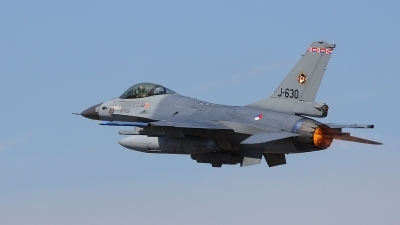 Photo ID 52988 by Mark Pelleymounter. Netherlands Air Force General Dynamics F 16AM Fighting Falcon, J 630