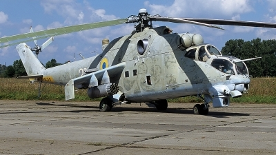 Photo ID 53278 by Carl Brent. Ukraine Army Aviation Mil Mi 24K, 22 WHITE