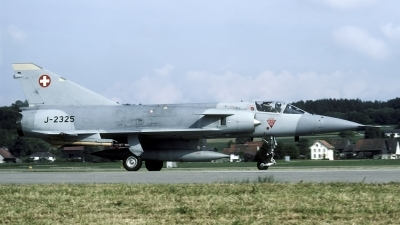 Photo ID 53124 by Joop de Groot. Switzerland Air Force Dassault Mirage IIIS, J 2325