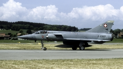 Photo ID 53123 by Joop de Groot. Switzerland Air Force Dassault Mirage IIIS, J 2327