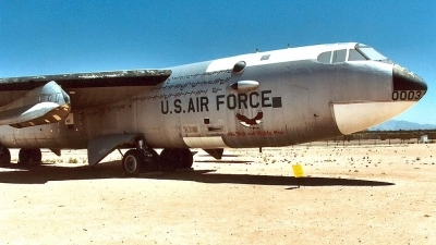 Photo ID 6618 by Ted Miley. USA Air Force Boeing NB 52A Stratofortress, 52 0003