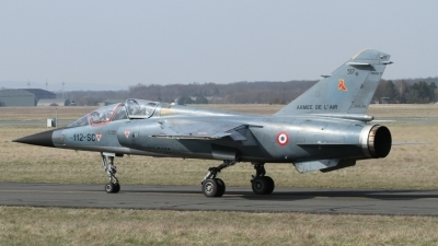 Photo ID 53644 by Peter Emmert. France Air Force Dassault Mirage F1B, 517