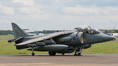 Photo ID 53563 by Tobias Ader. UK Air Force British Aerospace Harrier GR7, ZD403