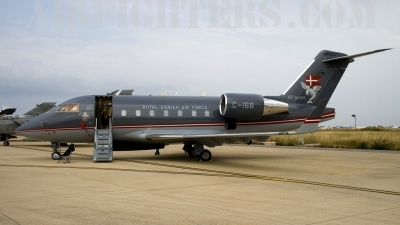 Photo ID 6651 by Roberto Bianchi. Denmark Air Force Canadair CL 600 2B16 Challenger 604, C 168