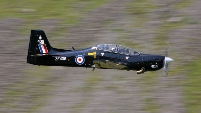 Photo ID 6669 by John Higgins. UK Air Force Short Tucano T1, ZF409