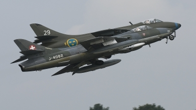 Photo ID 54021 by rob martaré. Private V stg ta Veteranflygf rening Hawker Hunter F58, SE DXM