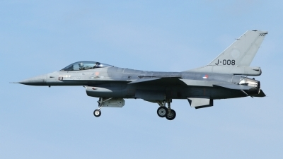 Photo ID 54083 by Peter Emmert. Netherlands Air Force General Dynamics F 16AM Fighting Falcon, J 008