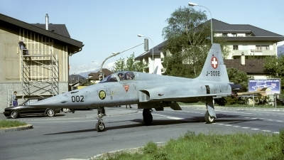 Photo ID 54261 by Joop de Groot. Switzerland Air Force Northrop F 5E Tiger II, J 3002