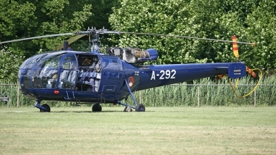 Photo ID 54390 by Carl Brent. Netherlands Air Force Aerospatiale SA 316B Alouette III, A 292