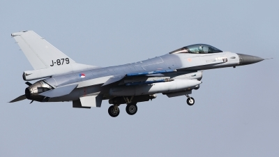 Photo ID 54357 by Carl Brent. Netherlands Air Force General Dynamics F 16AM Fighting Falcon, J 879