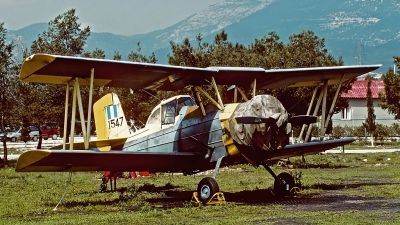 Photo ID 55049 by Carl Brent. Greece Air Force Grumman G 164 A Ag cat, 1547