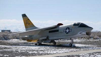 Photo ID 54660 by mark forest. USA Navy Vought DF 8L Crusader, 145449