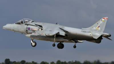 Photo ID 54708 by rinze de vries. UK Air Force British Aerospace Harrier GR9, ZD403