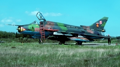 Photo ID 54731 by Carl Brent. Poland Air Force Sukhoi Su 22M4 Fitter K, 8512
