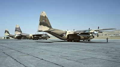 Photo ID 54766 by Carl Brent. Jordan Air Force Lockheed C 130H Hercules L 382, 347