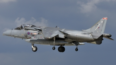 Photo ID 54787 by rinze de vries. UK Air Force British Aerospace Harrier GR9, ZD402
