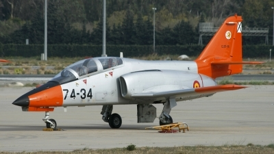 Photo ID 55003 by Richard Sanchez Gibelin. Spain Air Force CASA C 101EB Aviojet, E 25 81