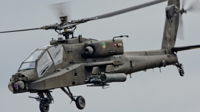 Photo ID 55334 by Andras Brandligt. Netherlands Air Force Boeing AH 64D Apache, Q 21