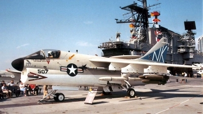 Photo ID 6871 by Ted Miley. USA Navy LTV Aerospace A 7B Corsair II, 154370