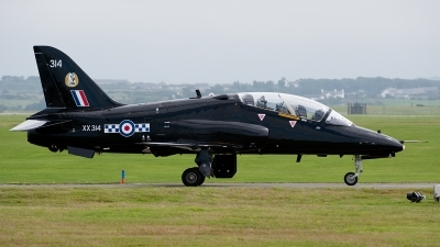 Photo ID 55159 by Lieuwe Hofstra. UK Air Force British Aerospace Hawk T 1W, XX314